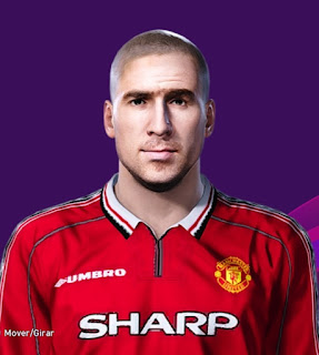 PES 2020 Faces Eric Cantona by Bill221