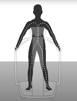 báscula de bioimpedancia