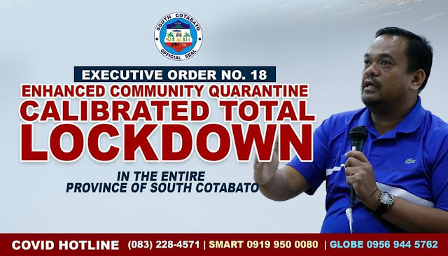 South Cotabato now under lockdown