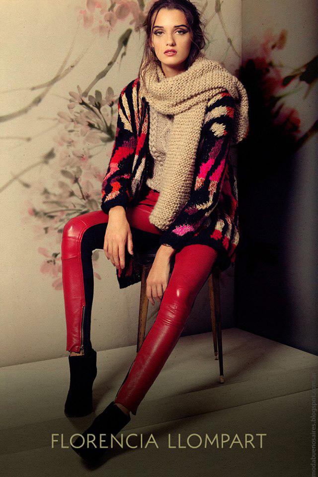 Moda tejidos otoño invierno 2016 mujer. Florencia Llompart otoño invierno 2016.