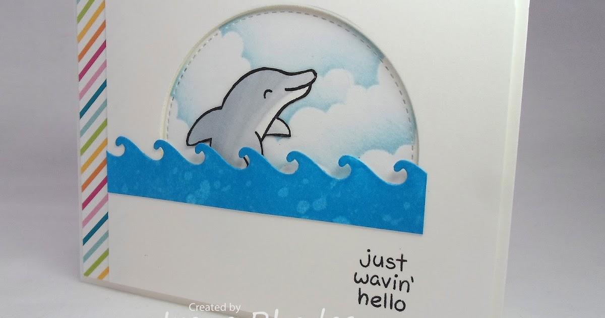 A CARD in PROGRESS: Wavin' Hello