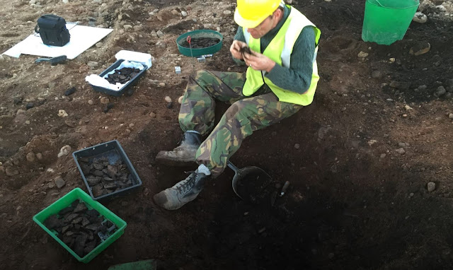 Signs of ancient Neolithic settlement unearthed in Scotland