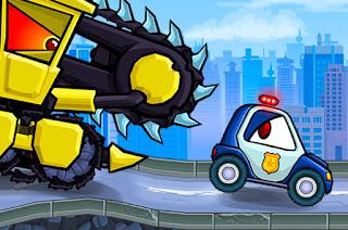 العاب شرطة السباق