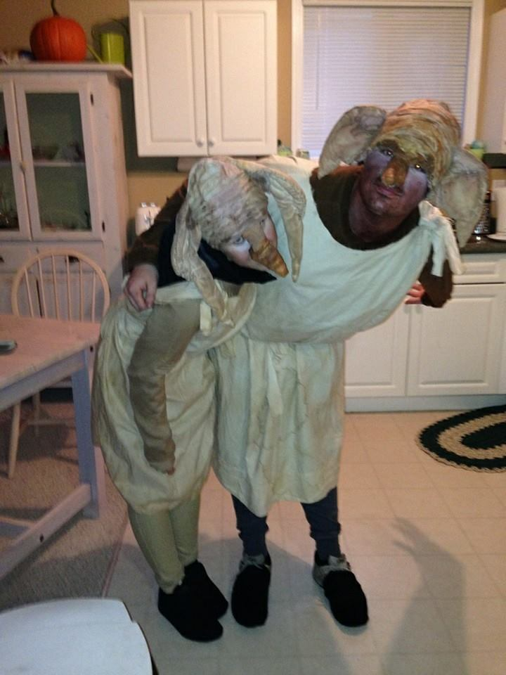 Dobby and Winky Costume & Lillian the Domestic Engineer. Blogspot.ca: Harry Potter House Elf ...