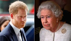 Queen Harry's call to Prince Harry