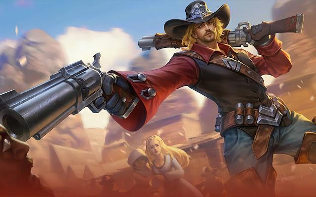Clint Wild Wanderer Heroes Marksman of Skins Mobile Legends Wallpaper HD for PC