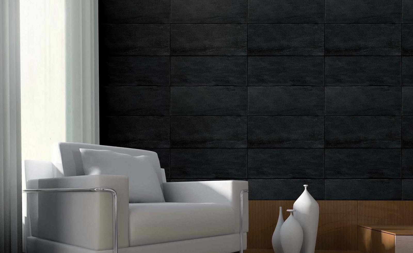 papier peint salon noir et blanc. Black Bedroom Furniture Sets. Home Design Ideas