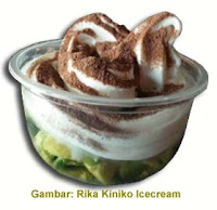 soft ice cream pondan vanila