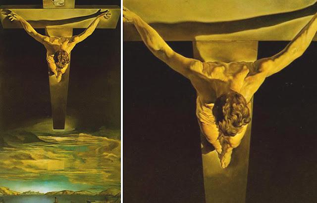 Cristo de São João da Cruz, Salvador Dali