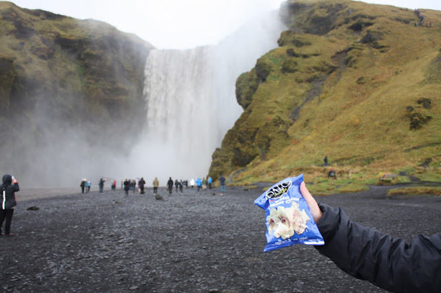 Palo Popcorn makes a trip to Iceland with us!