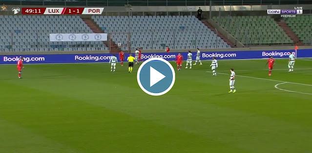 Luxembourg vs Portugal Live Score