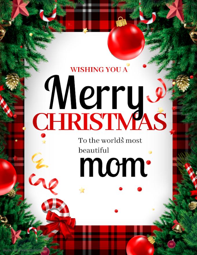 Status for mom| Merry Christmas mom|Whatsapp Status| Wishes for Christmas
