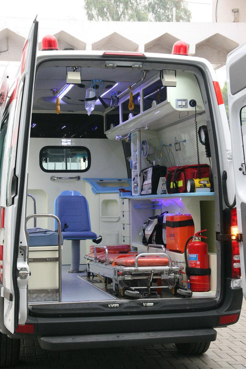ambulance interior design ahmad medix life care ambulance