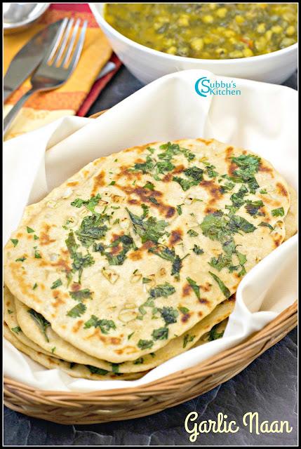 No Yeast Garlic Onion on Tawa Recipe