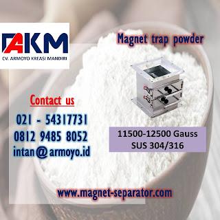 magnetic separator powder