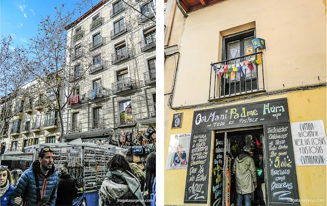 Feira do Rastro em La Latina, Madri