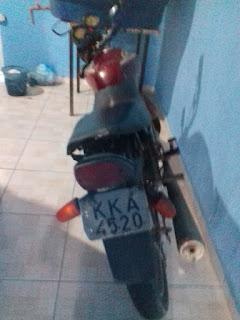 Moto conduzida por menor é apreendida com queixa de roubo/furto em São Vicente do Seridó