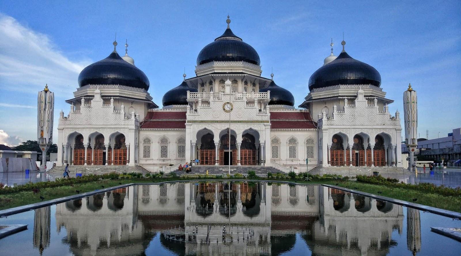 fotografi lansdcape Masjid Mautirahman long eksposure