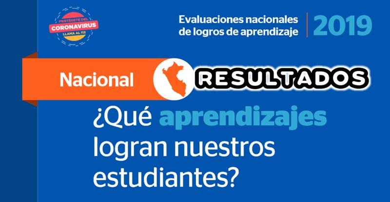 resultados de la ECE 2019