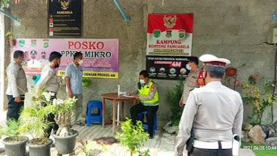Waka Polres Tangerang Kota Kunjungi Kampung Tangguh Desa Pisangan Jaya