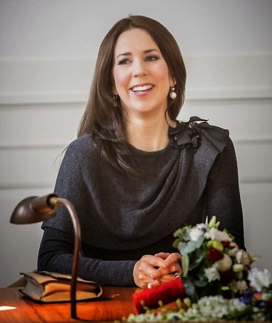 Princess Mary Attends The Award ceremony Of Scholarships