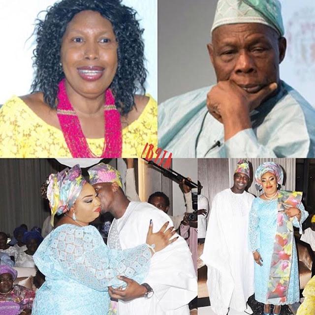 My son's wedding will cause plane crashes, strange deaths, Obasanjo's wife warns