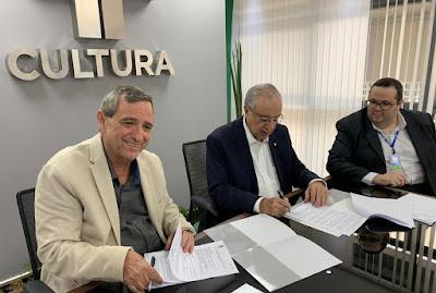 João Bosco Martins, José Roberto Maluf e Fábio Luis Guedes Borba - Divulgação