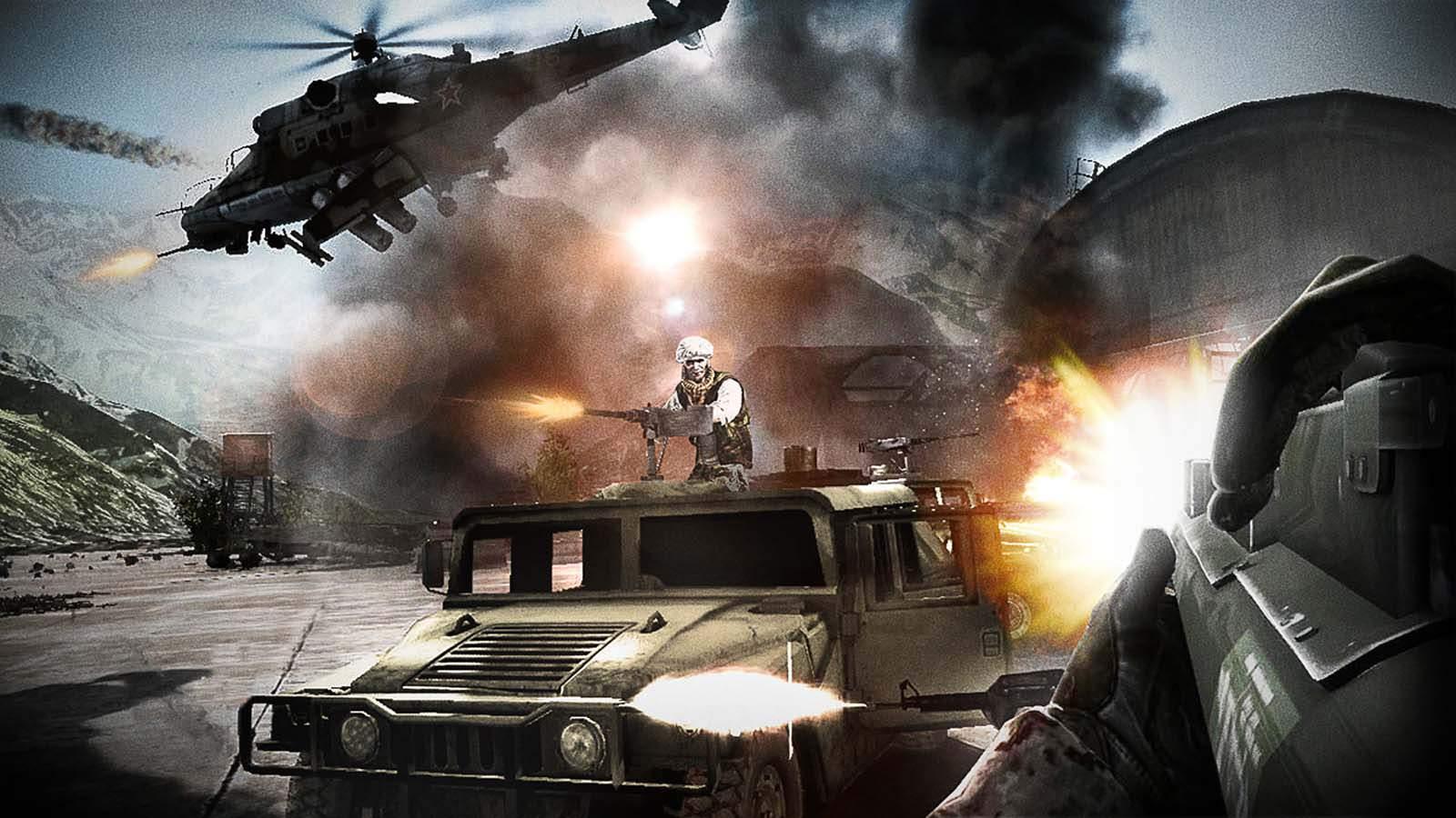 تحميل لعبة Heavy Fire Afghanistan مضغوطة برابط واحد مباشر + تورنت كاملة مجانا