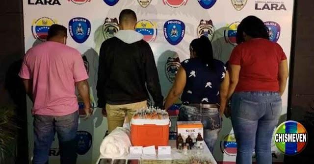 PLAGA MADURISTA   Detenidos por vender vacunas falsas en 450 dólares