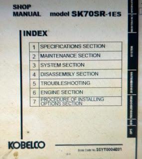 Shop Manual SK70SR-1ES