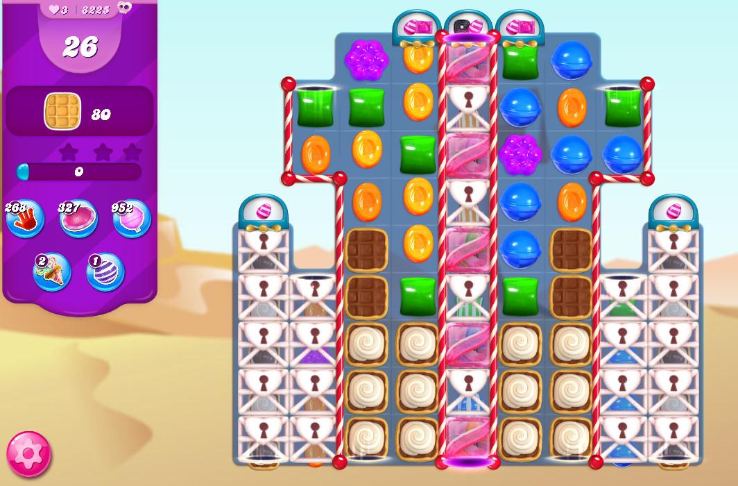 Candy Crush Saga level 8225