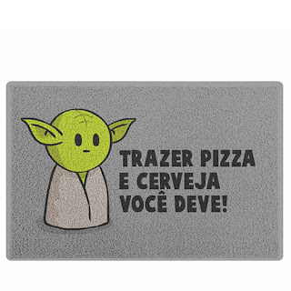 Capacho Mestre Mini Yoda Star Wars