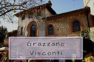 Grazzano Visconti cosa vedere in città - camper