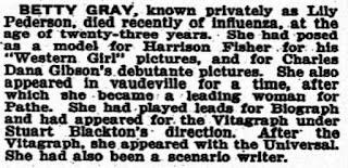 Betty Gray Obituary