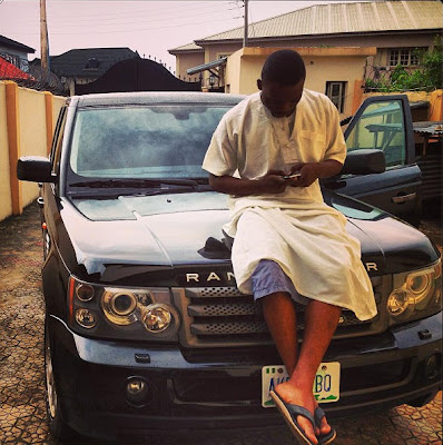 OLAMIDE+RANGY+CHIZYS EXCLUSIVE PHOTOS OF ALL NIGERIAN CELEBRITIES WHO ACQUIRED NEW CARS IN 2013