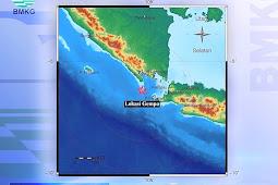 Gempa Bumi Berkekuatan 4,8 Magnitudo Guncang Tanggamus dan Dirasakan Hingga Lampung Barat