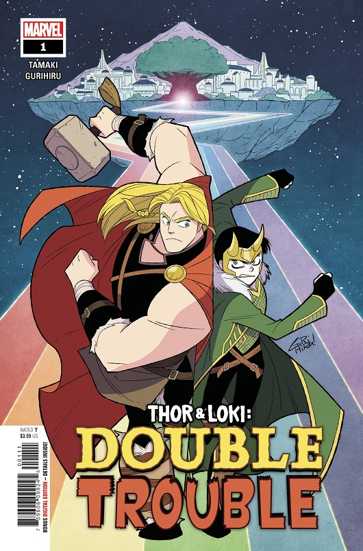 Cover of Thor and Loki Double Trouble #1