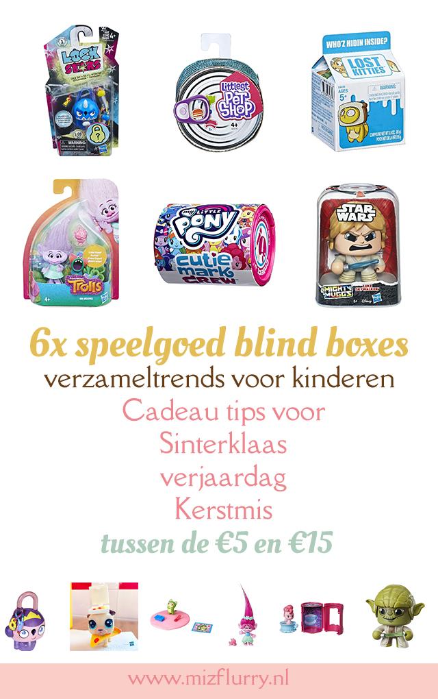 speelgoed blind boxes verzamel trends schoencadeautjes