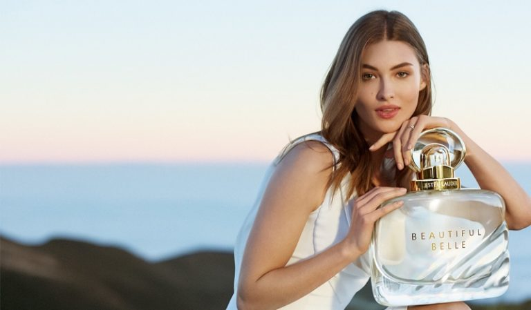 Grace Elizabeth stars in the latest Estee Lauder Campaigns