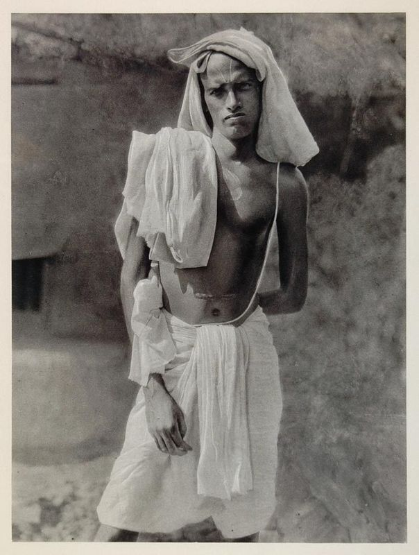A Hindu Brahmin Priest, Puri, Orissa - 1928