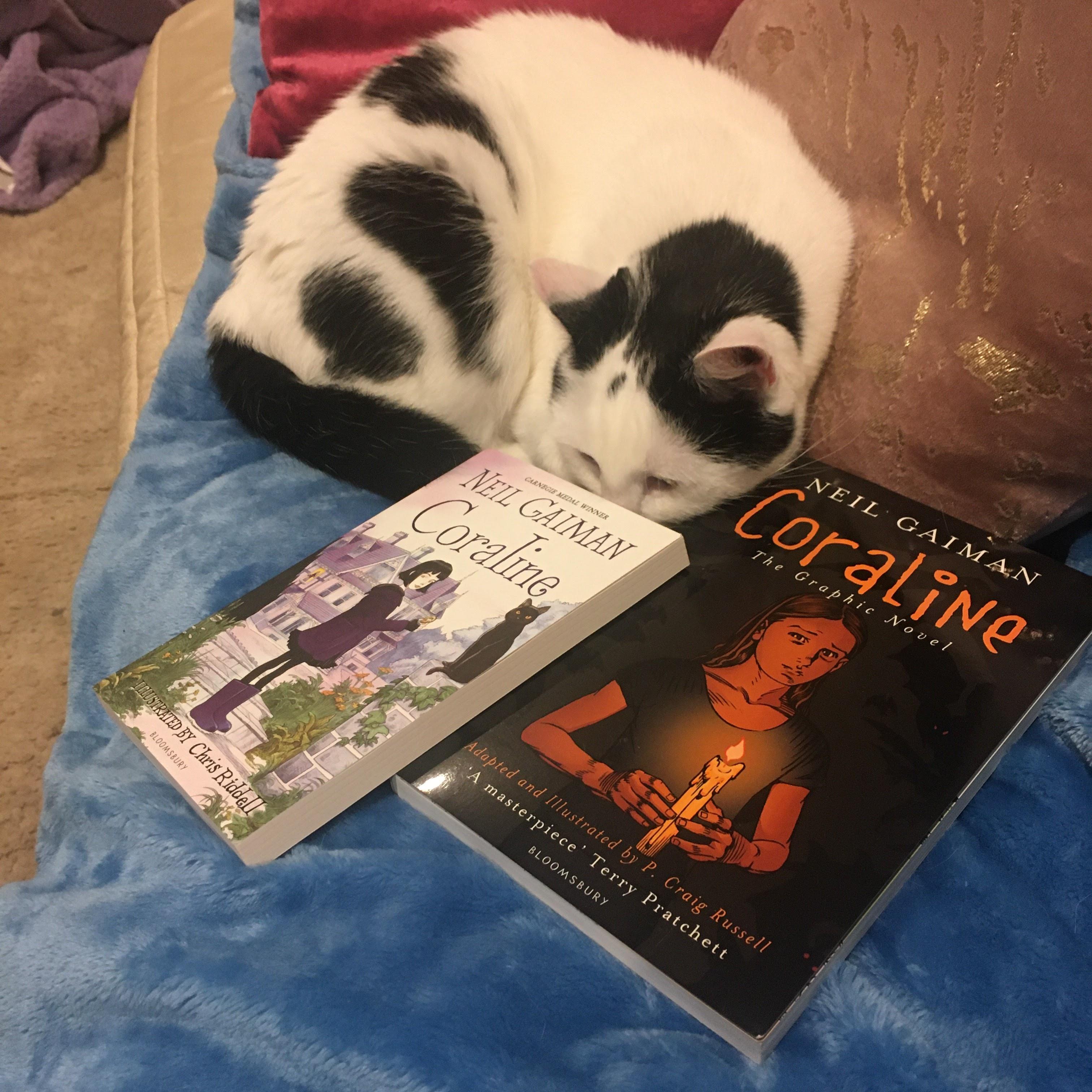 Kathryn S Inbox Review Coraline By Neil Gaiman