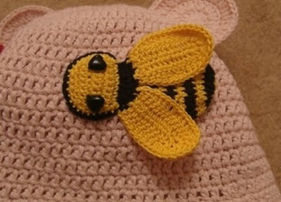 Abeja de Crochet  Paso a Paso
