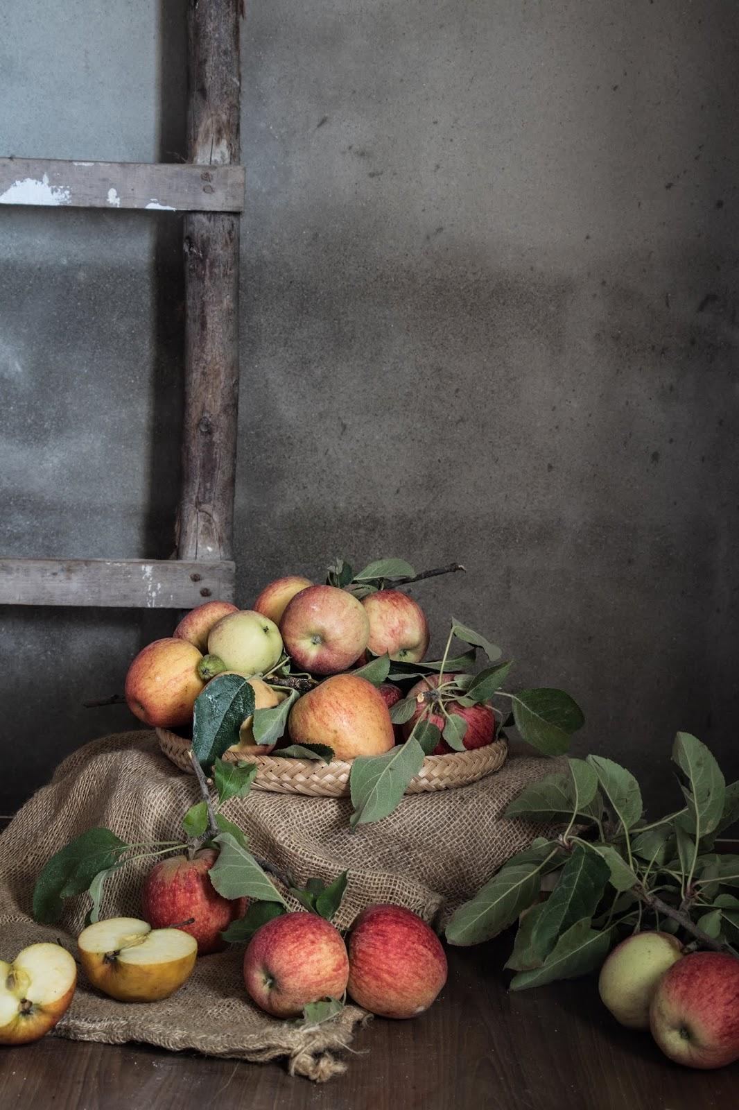 Maçãs fruta de outono