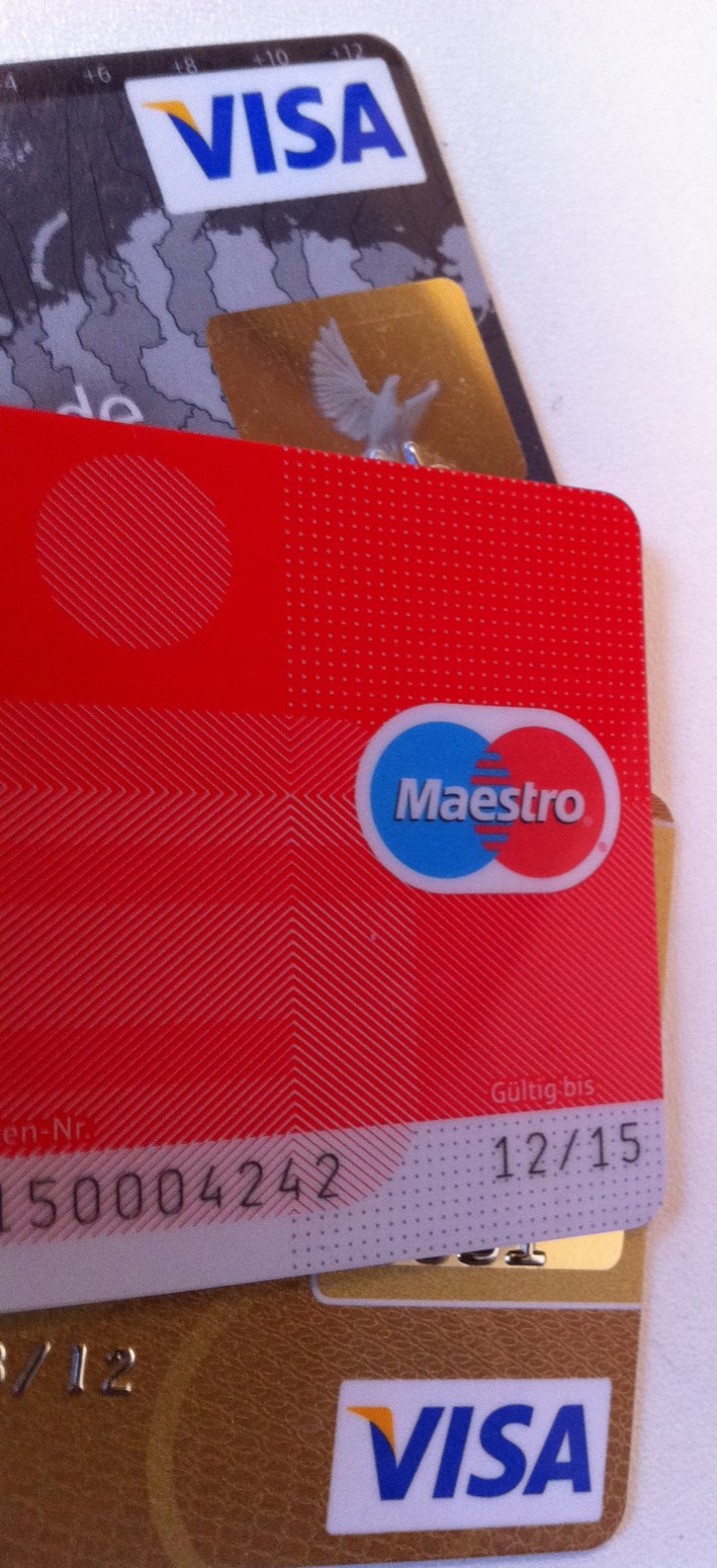 geld mit visa karte abheben