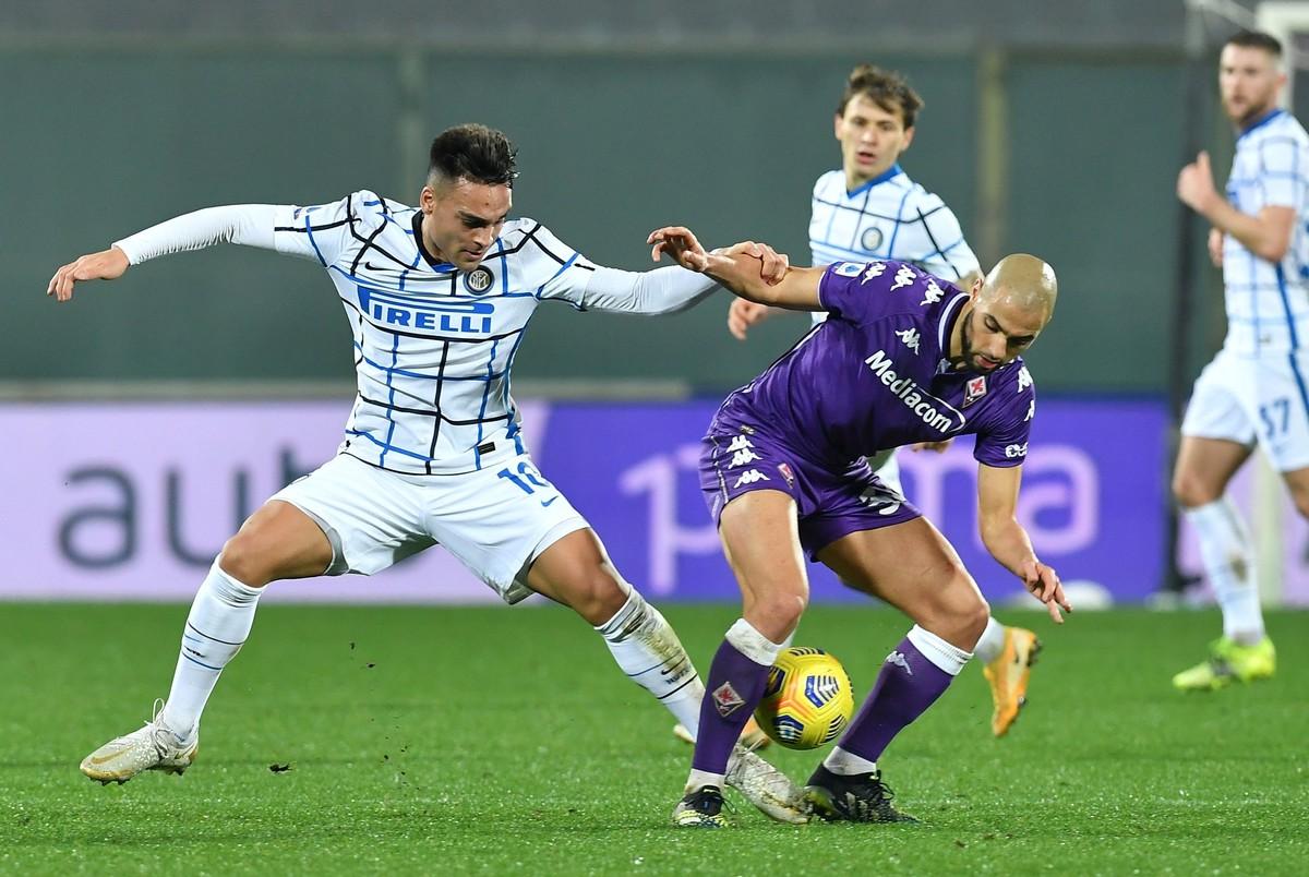 Inter, con ingreso de Lautaro Martínez en segundo tiempo, ganó y quedó líder