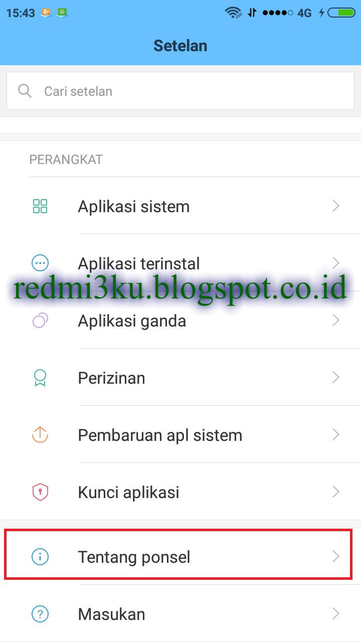 Cara Mengaktifkan Opsi Pengembang di HP Xiaomi Android