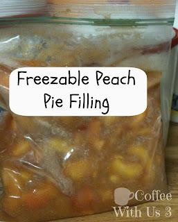 Freezable Pie Filling