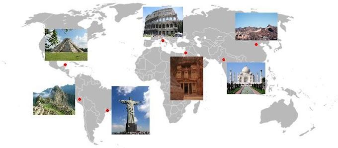 दुनिया के सात अजूबे (Seven Wonders of the World)