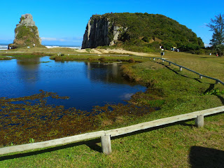 Lago e Morro da Guarita em Torres