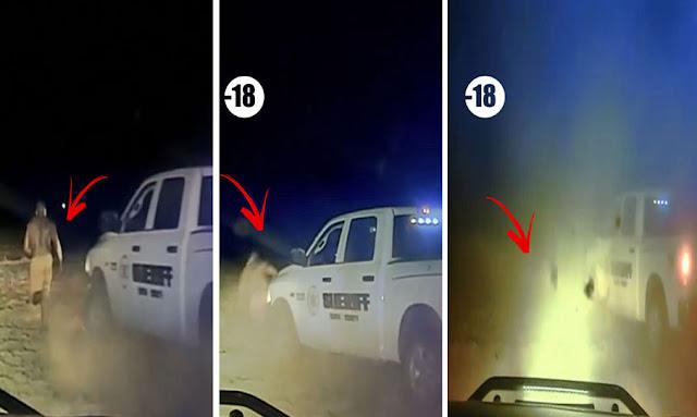 deputy runs over fleeing black man in kansas field